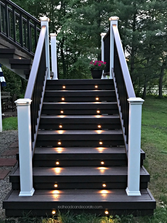 """This Michigan couple made the switch from a wood deck to a composite deck and they give all the details in the article """"Our New Trex Composite Deck"""" including some great tips on things they wish they knew."""