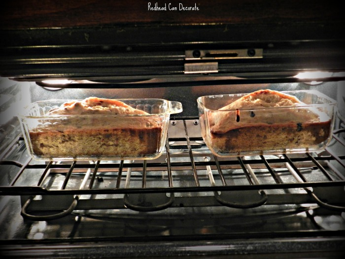 Sweet moist banana bread with a delicious surprise of tangy blueberries.  This is the best blueberry banana bread I have ever had!