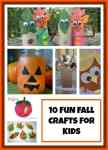 10 Fun Fall Crafts for Little Kids