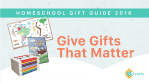 Home School Holiday Gift Guide