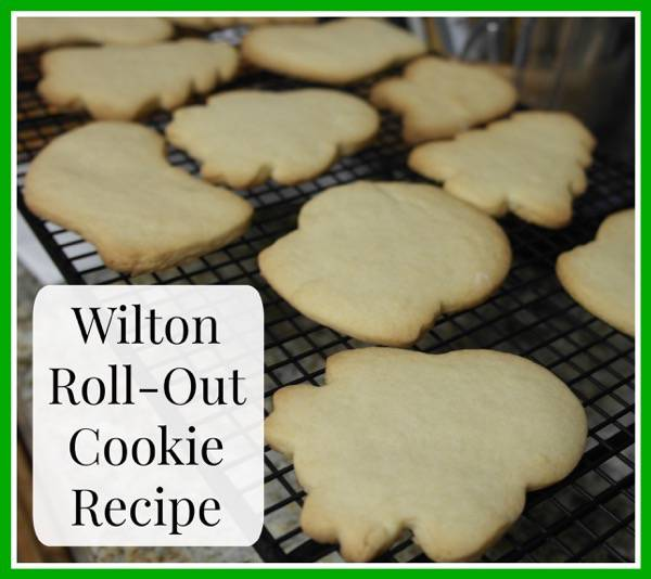 Wilton Roll-Out Cookie Recipe