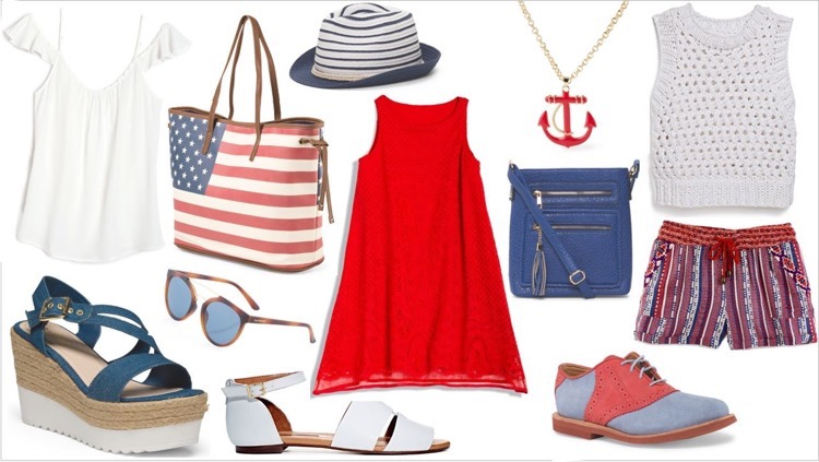 #TJMaxx #Marshalls #July4th #Fashion #ad