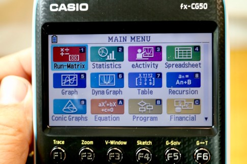 Casio PRIZM Graphing Calculator #Casio #GraphingCalculator #Calculator #math #education #school #ad