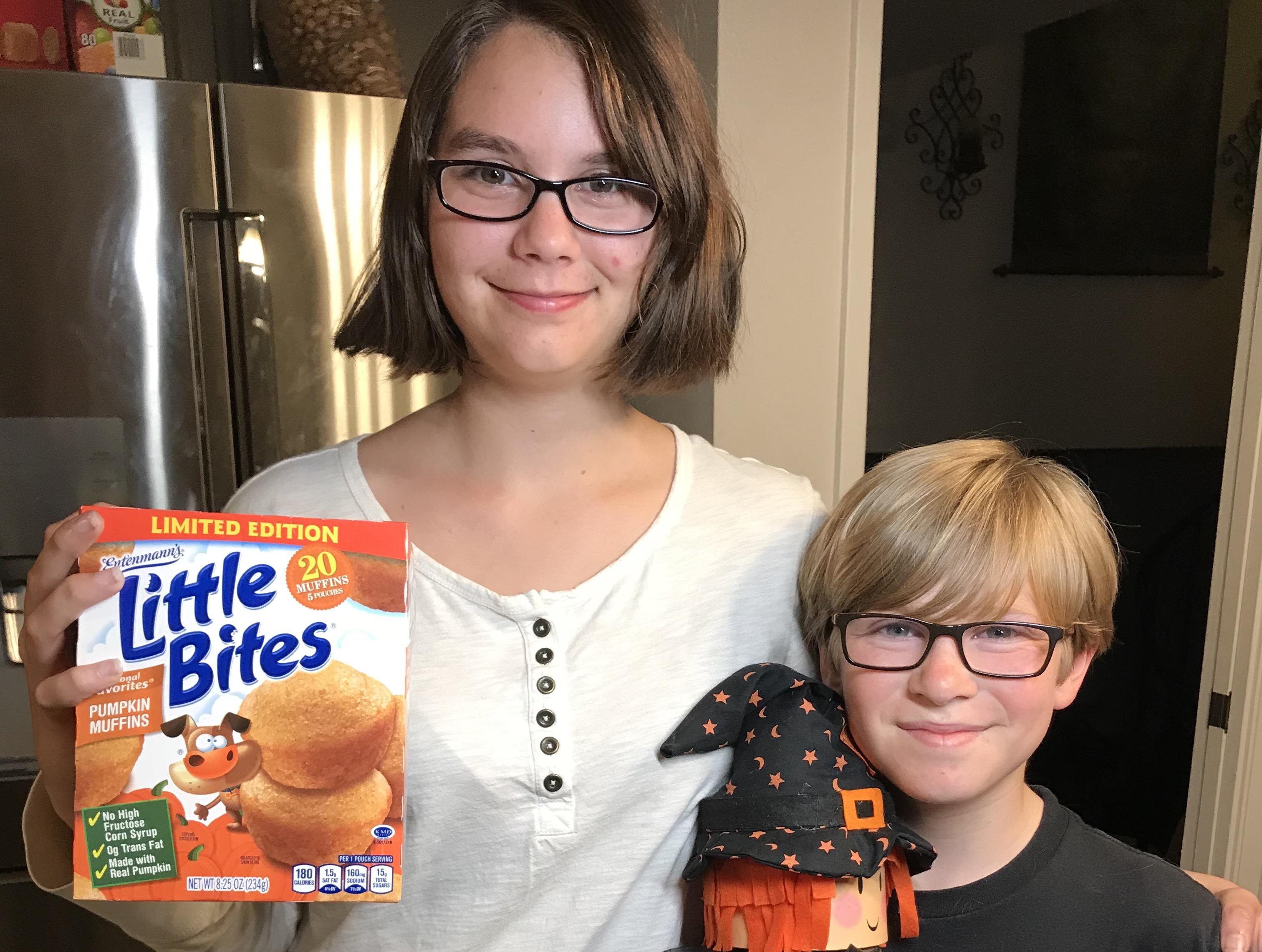 Little Bites Pumpkin #LittleBites #Entenmanns #food #foodie #giveaway #ad