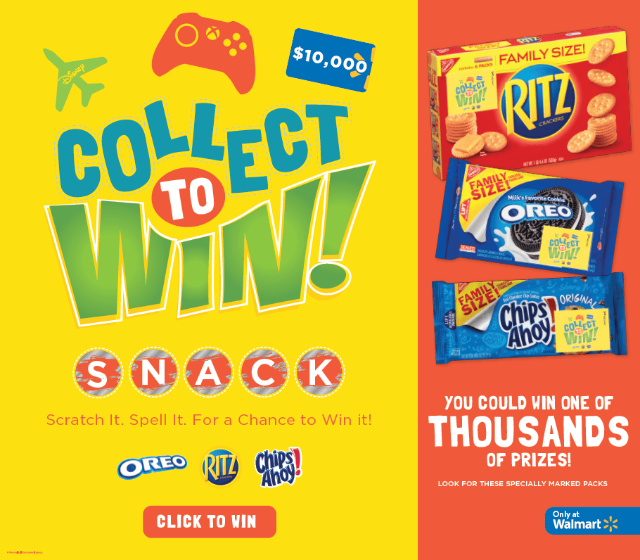 Walmart Collect to Win #CollectSnack #CollectiveBias #ad