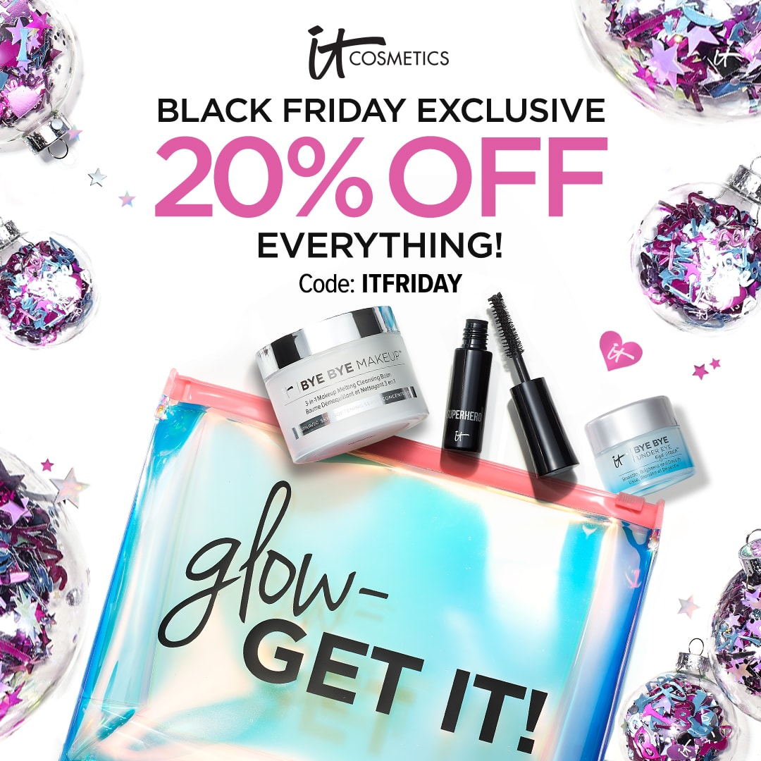 IT Cosmetics Black Friday Deals #ITCosmetics #makeup #beauty #holidays #blackfriday