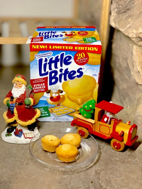 Entenmann's Little Bites Sugar Cookie Muffins #Entenmanns #LittleBites #Muffins #snacks #food #foodie #holidays #giveaway #LoveLittleBites #LBSugarCookie #ad