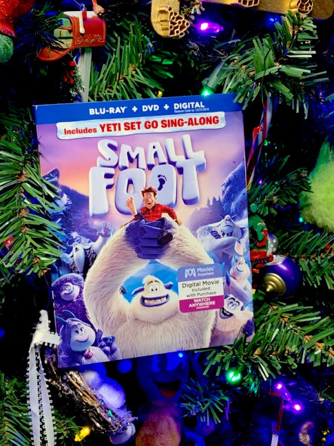 Smallfoot Blu-ray and DVD #SMALLFOOT #movie #giveaway #ad