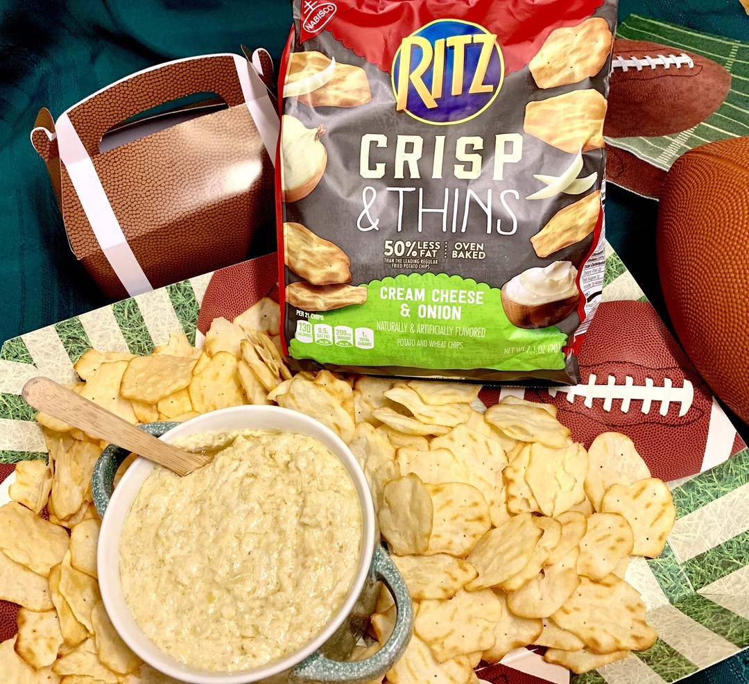 Celebrate the Big Game with RITZ Crisp & Thins #RITZBlitz #IC #food #foodie #superbowl #recipe #ad