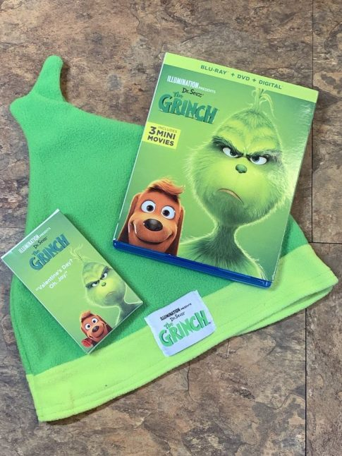 Dr. Seuss' The Grinch Blu-ray + DVD #TheGrinch #movie #giveaway #ad