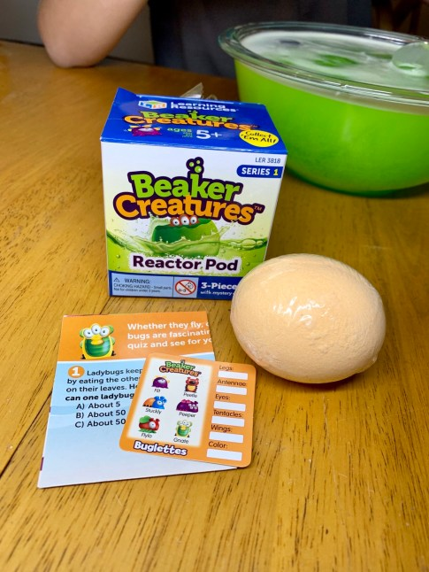 Beaker Creatures Reactor Pods Set