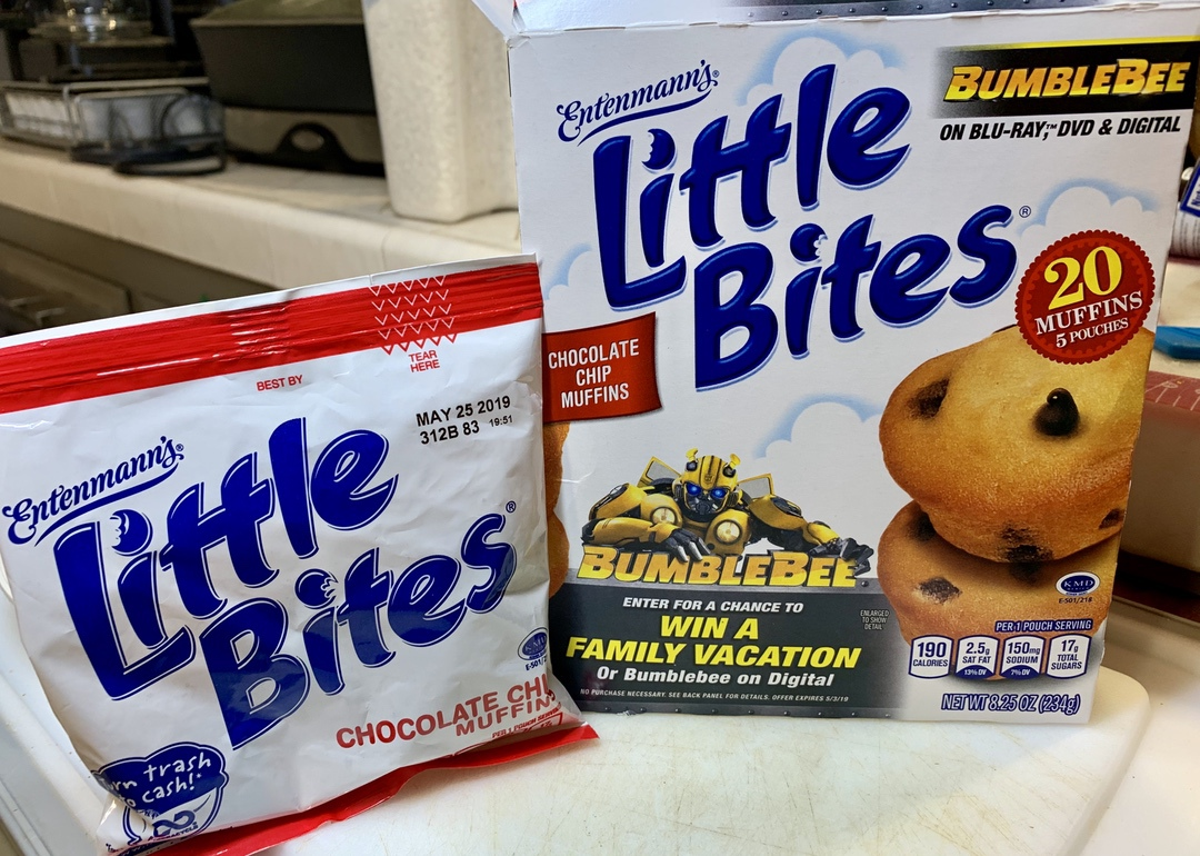 Box of Entenmann's Little Bites Muffins