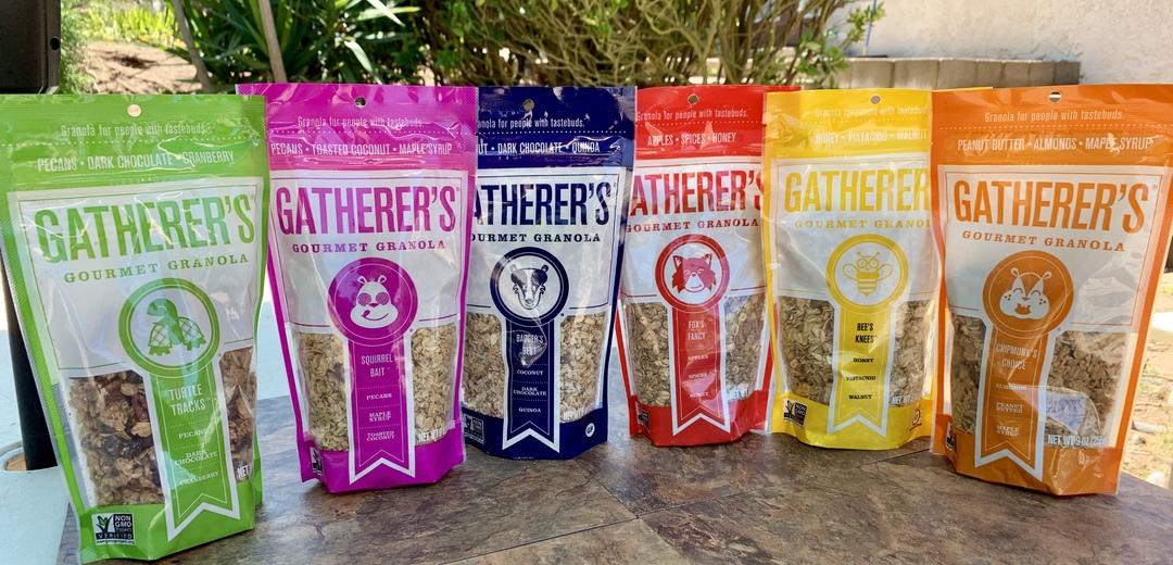 Gatherer's Granola Flavors