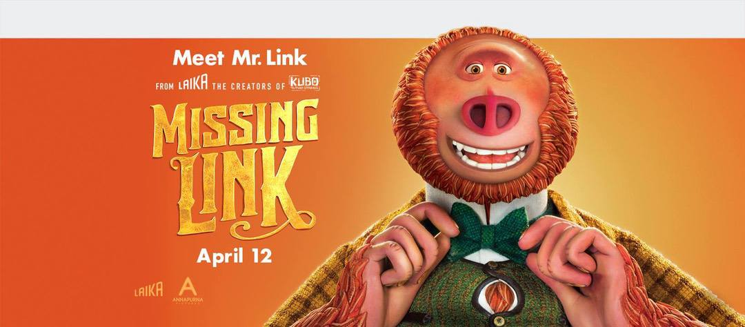 Missing Link in Theaters Now + GIVEAWAY