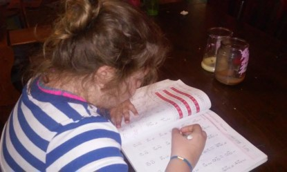 London doing her math