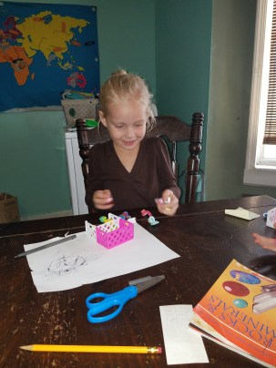 homeschooling with Shopkins