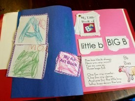 notebooking letters and sounds