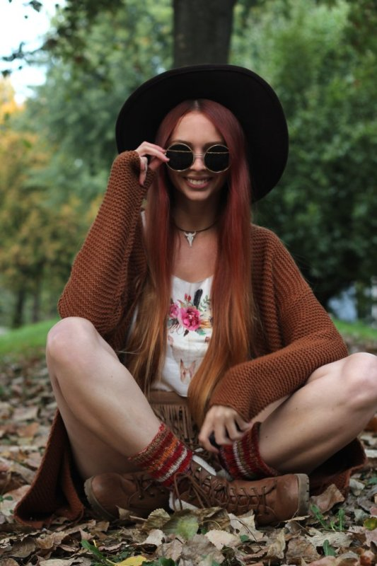 Summer to fall Update your boho look 4