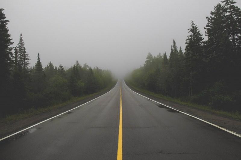 redheadventurer-liza-laboheme-travel-roadtripping-eastern-canada-street-fog
