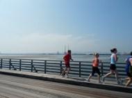 Over Wooden Bridge