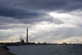Brooding Sky over Ringsend