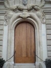 Detail, House. Via Gregoriana