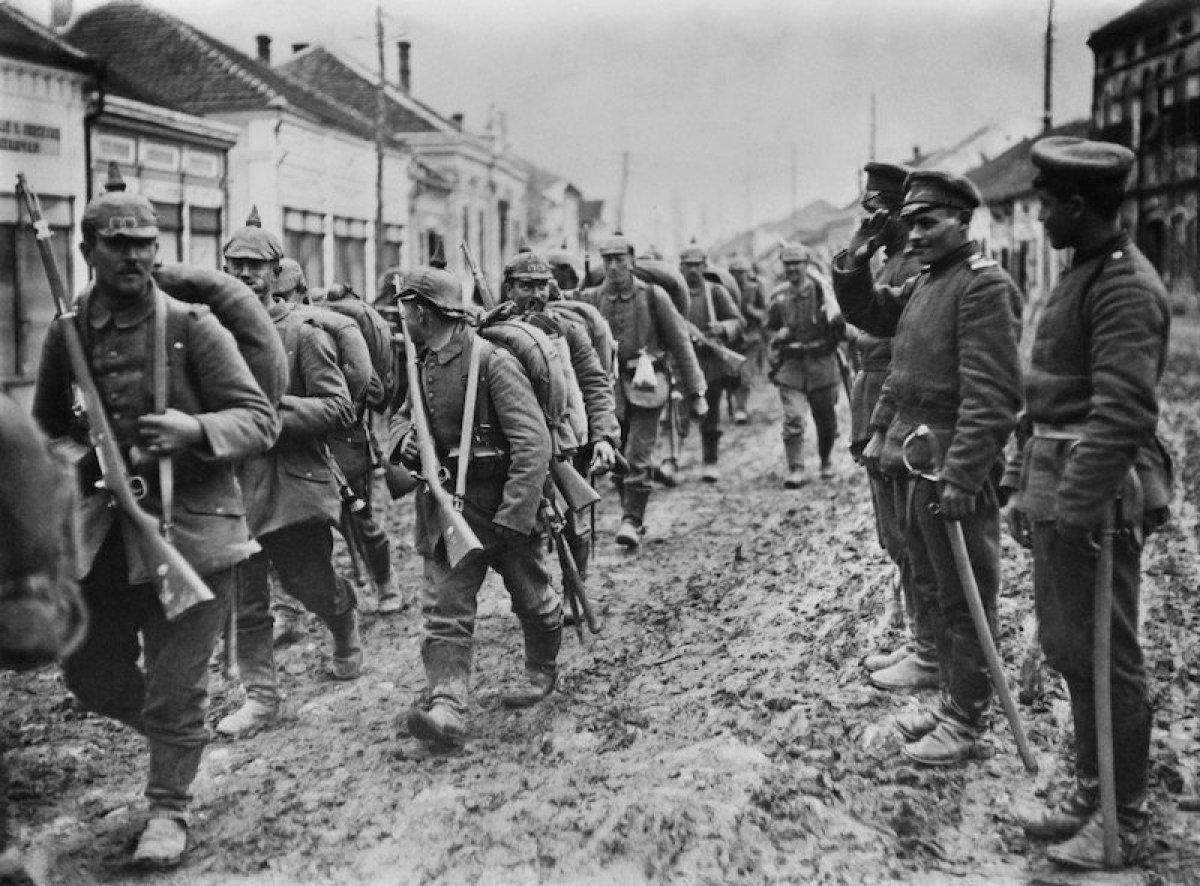 Que origino la primera guerra mundial