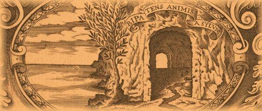 Emblema de una escuela italiana del siglo XVI