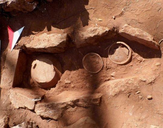 Una de las 28 estructuras arqueológicas encontradas en México