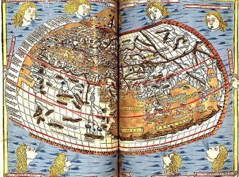 pagina de la cosmografia de ptolomeo