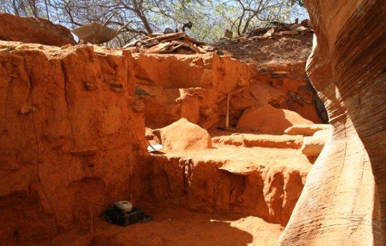 excavaciones arqueologicas brasil