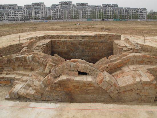 tumba dinastia sui