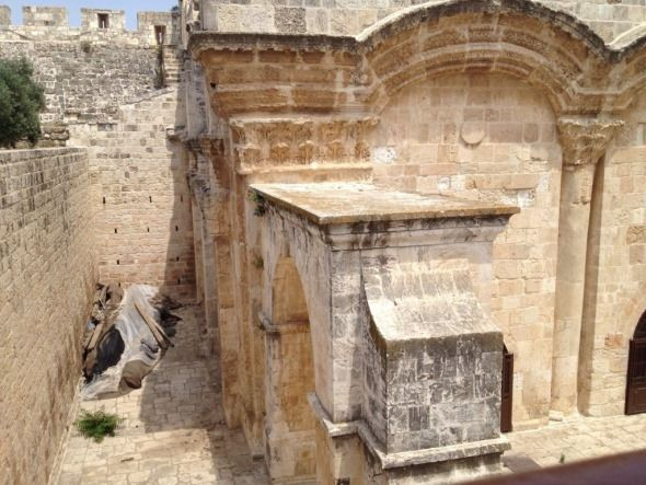vigas templos jerusalen