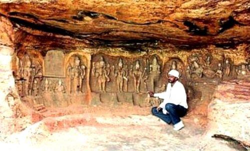 esculturas visnu india