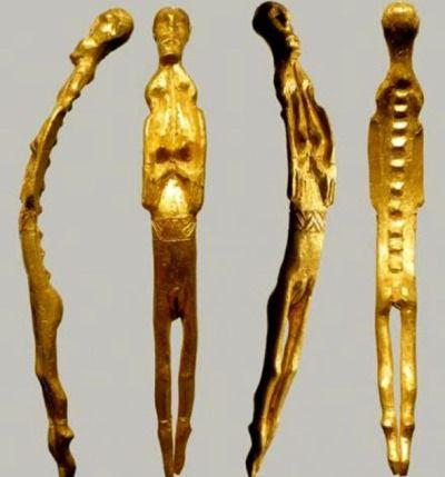 estatuilla oro mujer dinamarca