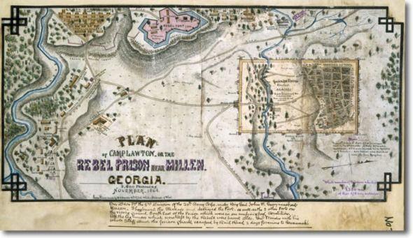 mapa campamento georgia