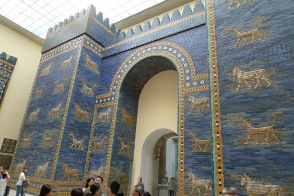 puerta de ishtar en babilonia