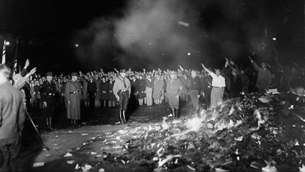 libros prohibidos nazismo