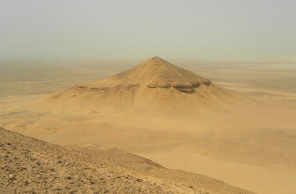 piramide egipto perdida