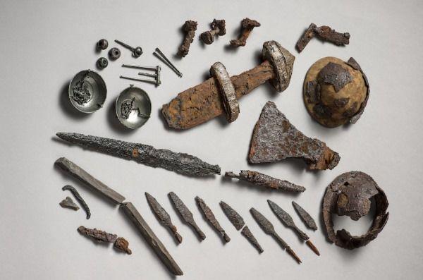 objetos vikingos noruega