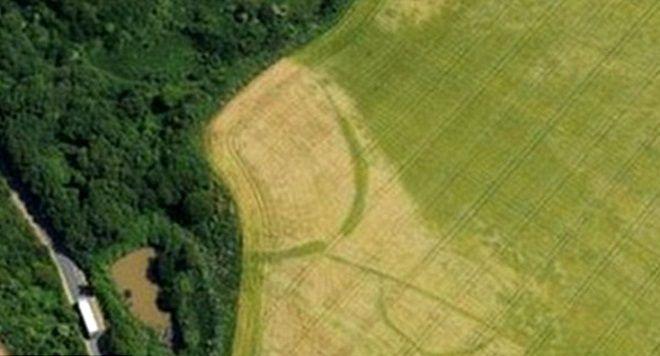 Zona donde se encuentra la granja de la Edad del Hierro en Pembrokeshire.