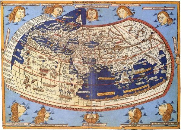 mapa de claudio ptolomeo