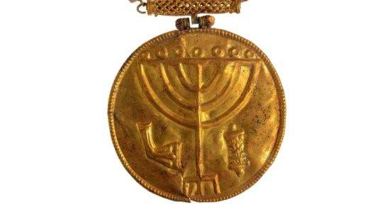 antiguo medallon judio