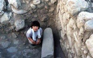 piedra ritual cananeo