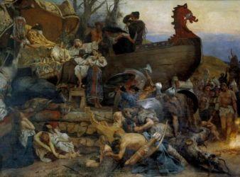 funeral vikingo