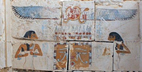escena de a tumba de Senebkay
