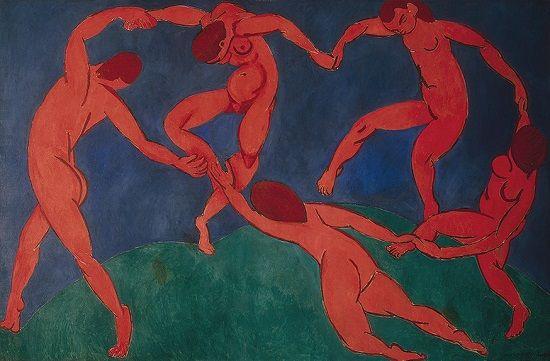 El Baile, Henri Matisse, versión de 1910