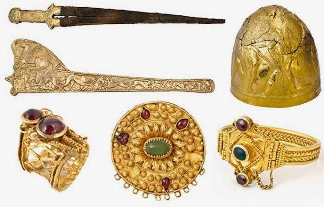 objetos arqueologicos crimea