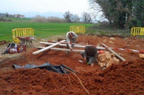yacimiento neandertal girona