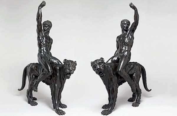 Estas estatuas de bronce realizadas por Miguel Ángel podrían ser el último legado del artista.